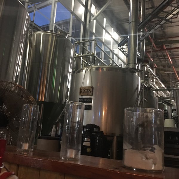 Photo taken at Rocks Brewing Co by Spatial Media on 5/16/2017