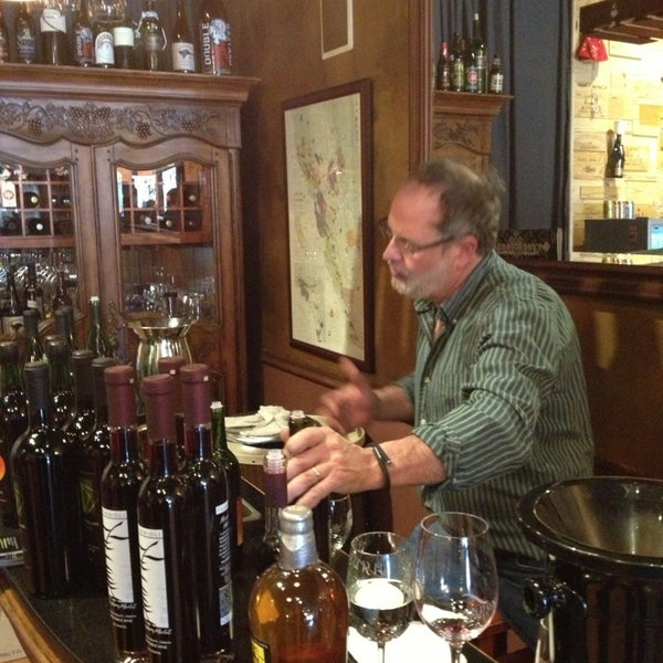 Photo taken at Ashburn Wine Shop by Ron W. on 3/23/2013