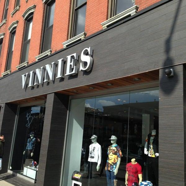 Vinnies clothing store