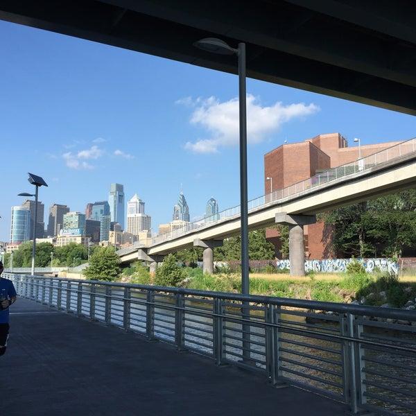 Photo taken at South Street Bridge by Robert M. on 7/18/2015