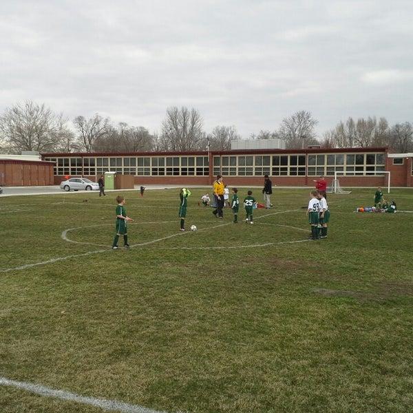 Photo taken at Woodlawn Elementary School by Katherine K. on 4/6/2013