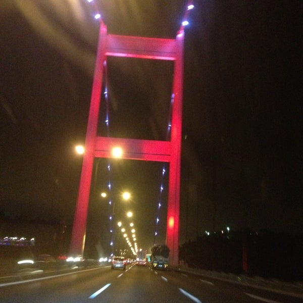 Photo taken at Fatih Sultan Mehmet Bridge by Soner ç. on 7/7/2013
