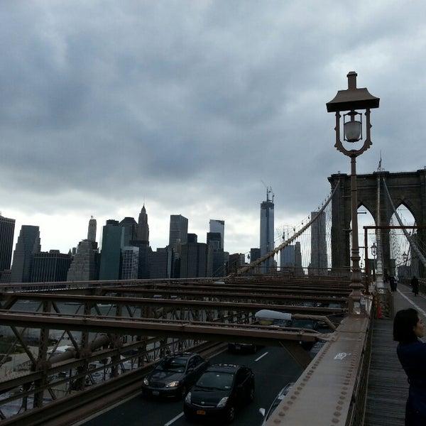 Photo taken at Brooklyn Bridge Park by Aj M. on 4/16/2013