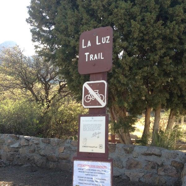 Photo taken at La Luz Trailhead by Rafael M. on 7/30/2013
