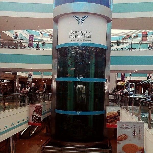 Photo taken at Mushrif Mall by Zel R. on 5/24/2013
