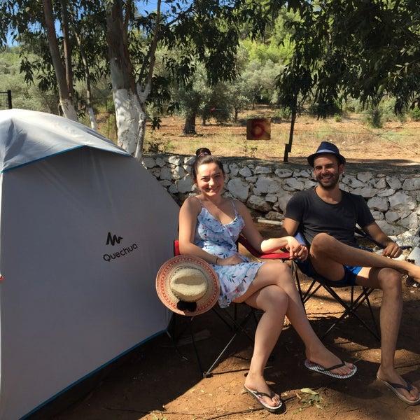 7/15/2018 tarihinde Özlem A.ziyaretçi tarafından Azmakbasi Camping'de çekilen fotoğraf