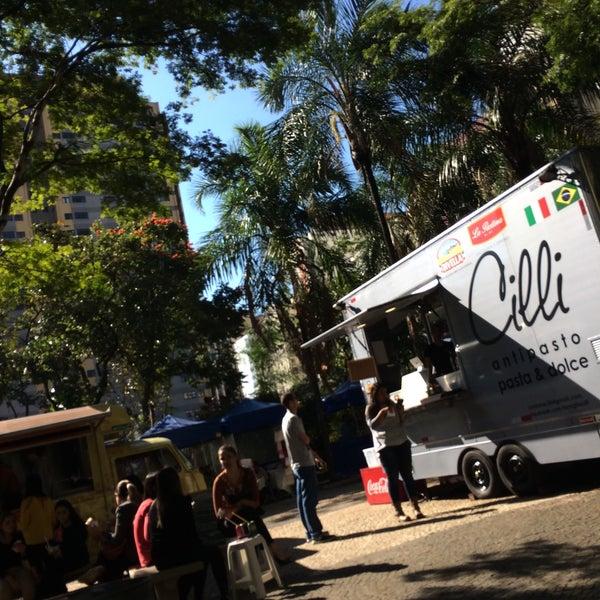 Photo taken at Calçadão Oiapoque by Rafael Freitas S. on 5/29/2015
