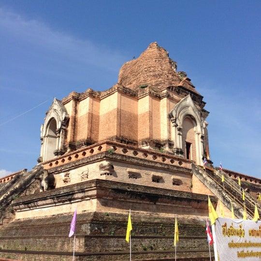 Photo taken at Wat Chedi Luang Varavihara by ,7TOMA™®🇸🇬 S. on 12/15/2012