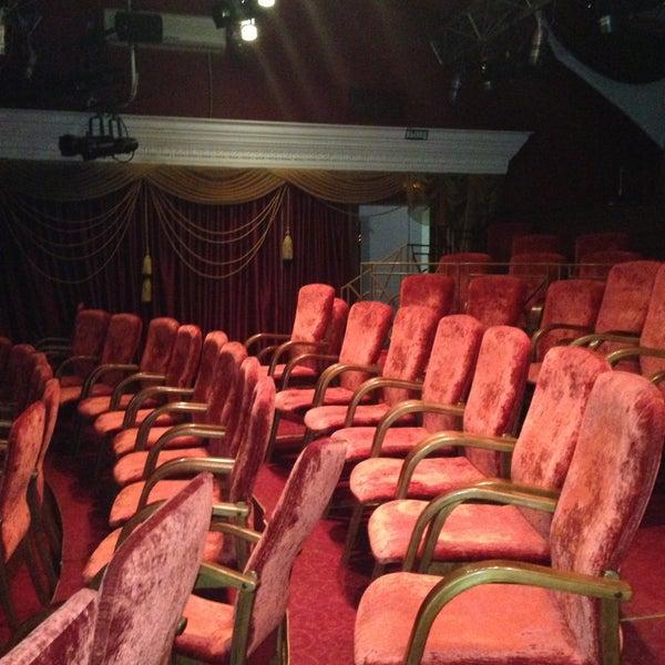 Снимок сделан в Театр-кабаре на Коломенской/ The Private Theatre and Cabaret пользователем Katerina . 4/17/2013