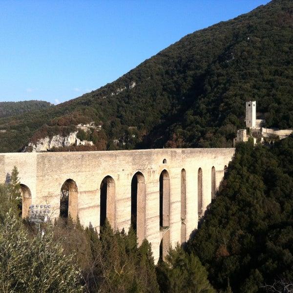 Photo taken at Ponte Delle Torri by Elisa S. on 2/16/2013