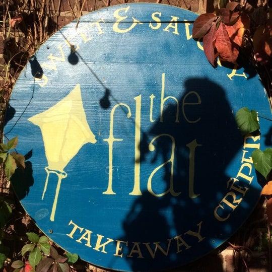 Photo taken at The Flat: Takeaway Crêperie by Joanne K. on 11/7/2014
