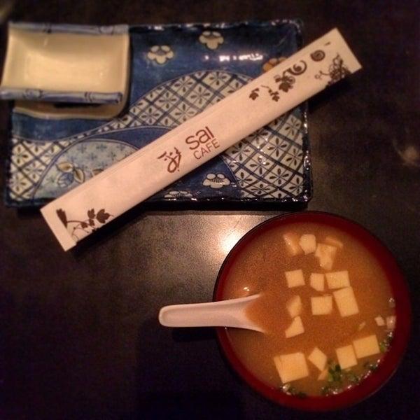 Photo taken at Sai Cafe by Seth M. on 1/28/2014
