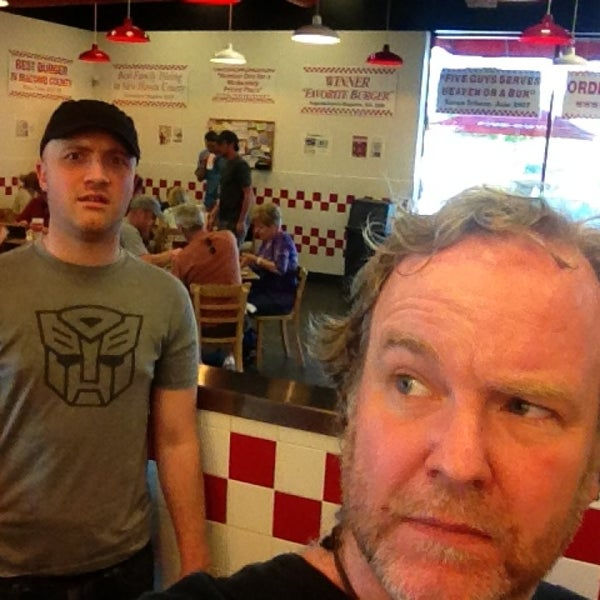 Photo taken at Five Guys by Scott A. on 3/29/2013