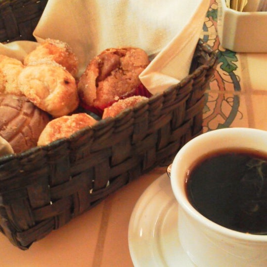 Un rico cafe Punta del Cielo y las deliciosas bolitas de queso, unicas..!!!