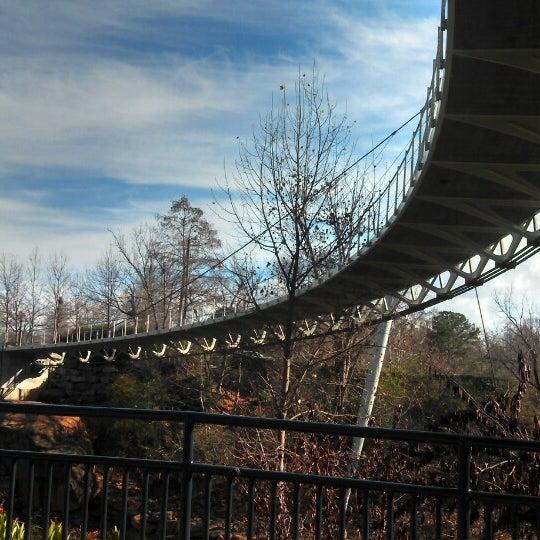 Photo taken at Liberty Bridge by Cristi S. on 3/1/2013