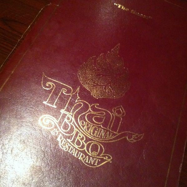 รูปภาพถ่ายที่ Thai Original BBQ & Restaurant โดย William W. เมื่อ 3/16/2013