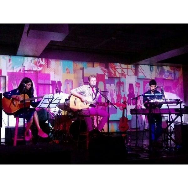 Photo taken at Indigo Live - Music Bar by Anju on 9/25/2014