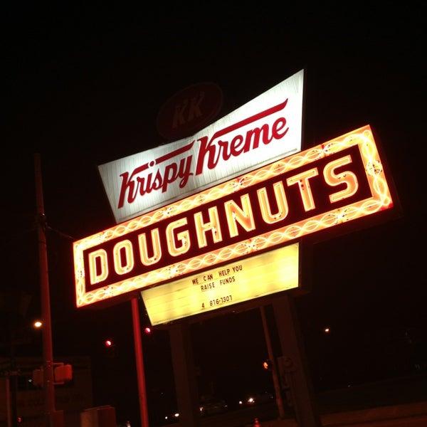 Photo taken at Krispy Kreme Doughnuts by muse b. on 5/25/2013