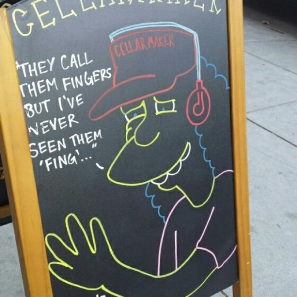 Foto scattata a Cellarmaker Brewing Company da Darrin M. il 6/2/2014