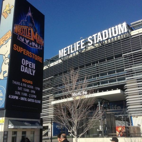 Photo taken at MetLife Stadium by Mike R. on 4/6/2013
