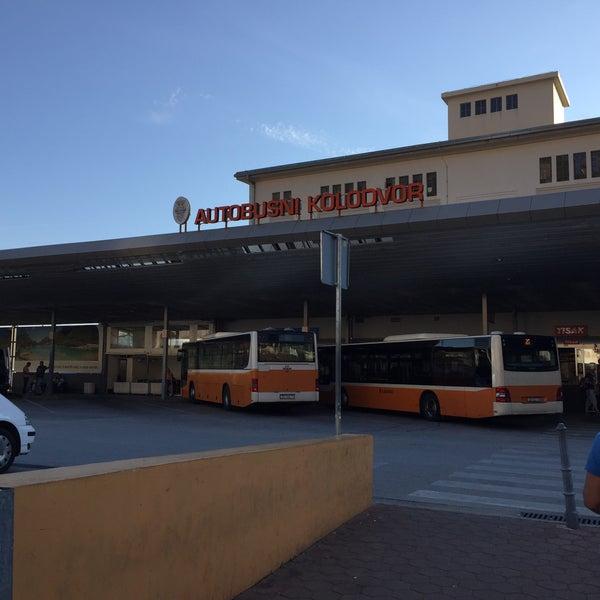 Photo taken at Autobusni Kolodvor Dubrovnik | Dubrovnik Bus Station by Susumu O. on 9/24/2016