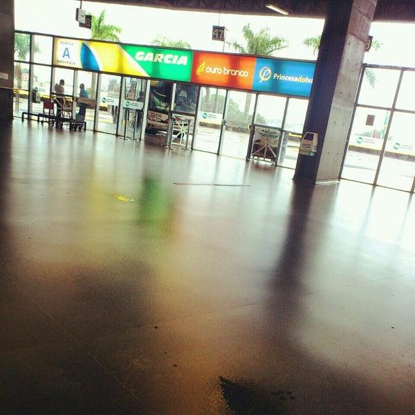 Photo taken at Terminal Rodoviário José Garcia Villar by Fernanda C. on 3/13/2013
