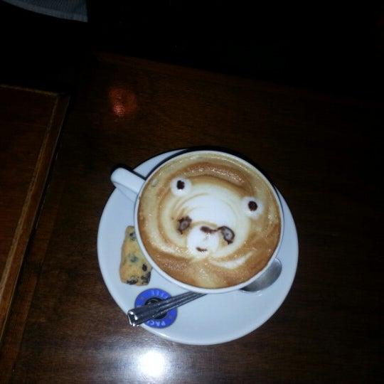 Photo taken at Cafe La Vie by Osman Y. on 3/10/2013