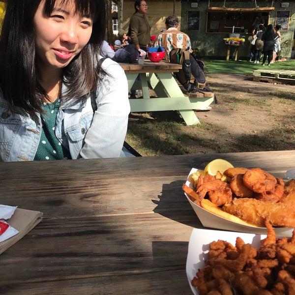 Das Foto wurde bei Governors Island Beer Co. von Sharon am 10/22/2017 aufgenommen