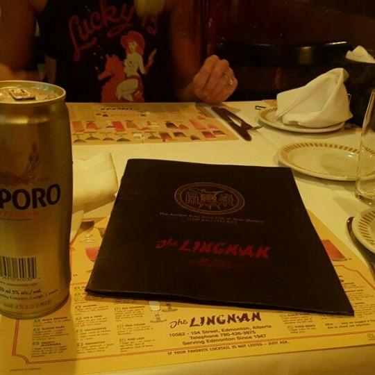 Lingnan Chinese Restaurant Menu