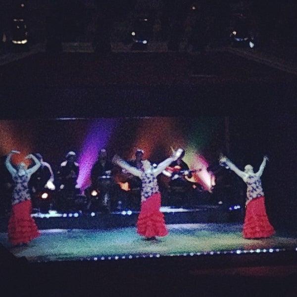 Photo taken at Palacio del Flamenco by Salem AlDossry🎒 on 5/9/2013
