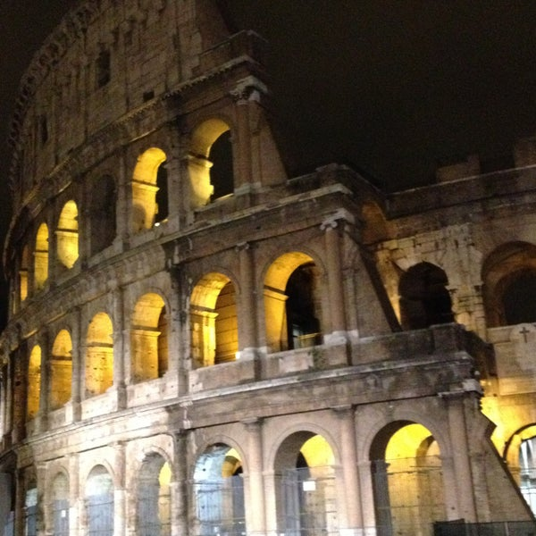 Photo taken at Piazza del Colosseo by Ana A. on 4/21/2013