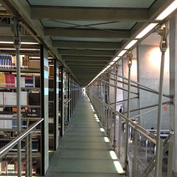 Photo taken at Biblioteca Vasconcelos by Chrisomar A. on 7/2/2013