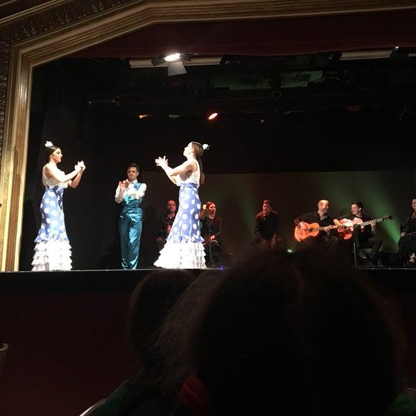 Photo taken at Palacio del Flamenco by Yasemin D. on 4/23/2017