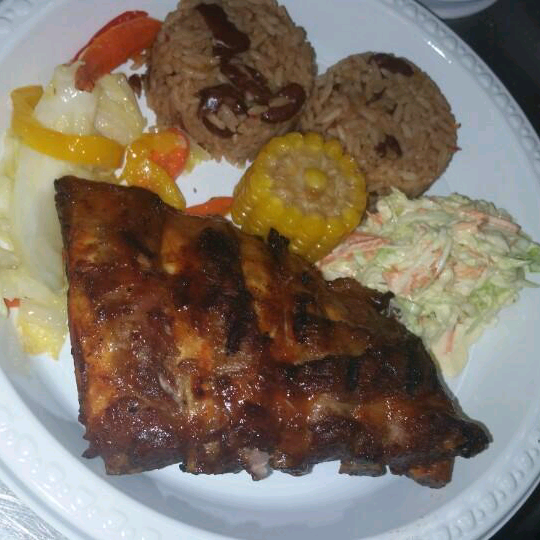 Dinner at coco locos in white bay jvd