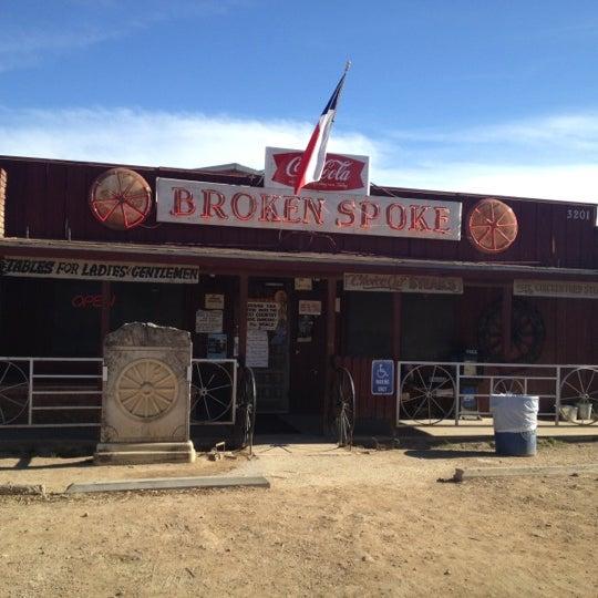 Photo taken at Broken Spoke by Angela B. on 2/21/2013