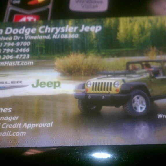 Vann Dodge Chrysler Jeep Auto Dealership In Vineland