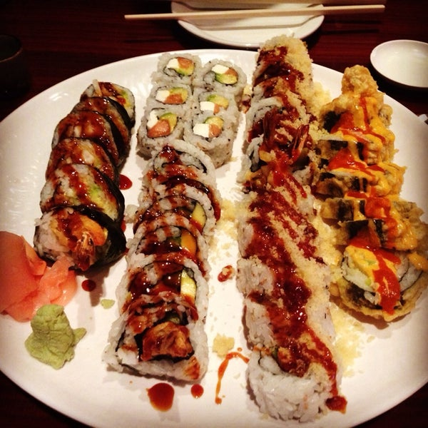 Photo taken at Sushi On The Rocks by Alyssa R. on 4/15/2014