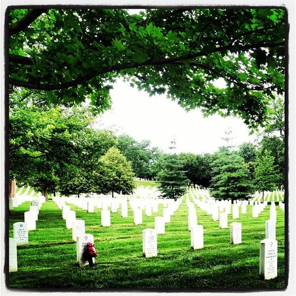 Photo taken at Arlington National Cemetery by Jamilia W. on 7/2/2013