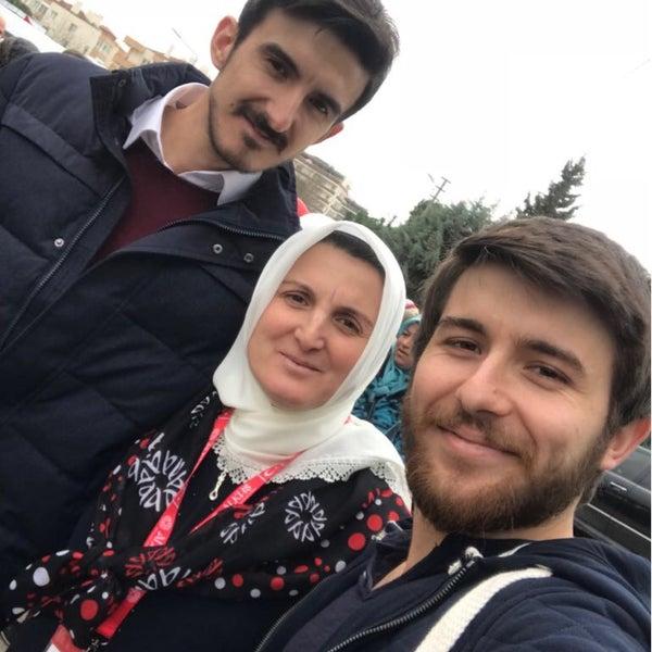 Photo taken at Hatuniye Camii by kadir ş. on 3/5/2018