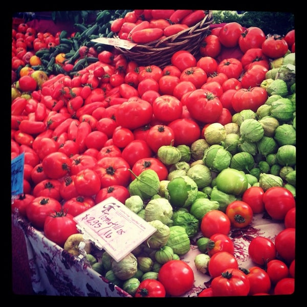 Photo taken at Portland Farmer's Market at PSU by Kathy T. on 8/10/2013