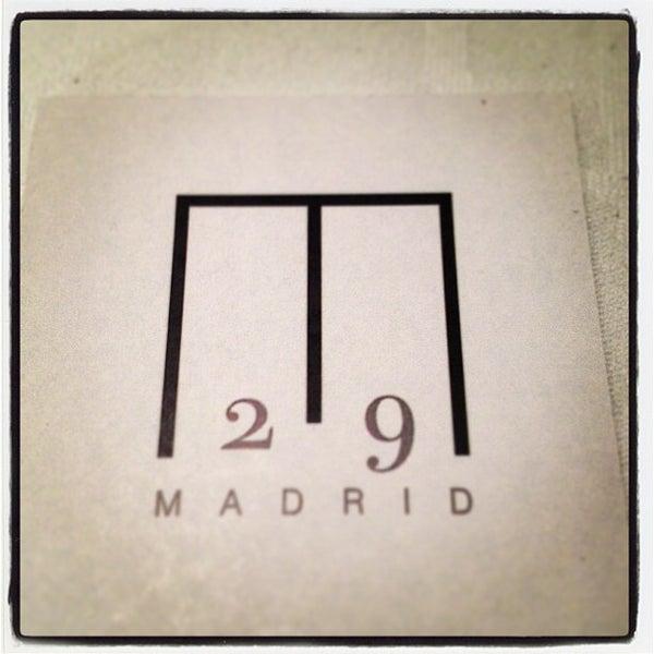 Foto tomada en M29 Restaurante Hotel Miguel Angel por Marcos A. el 12/21/2012