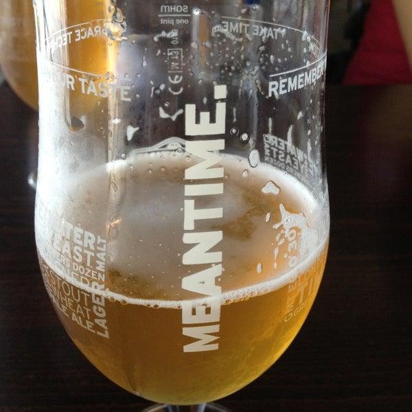 Photo taken at Trafalgar Tavern by Melissa C. on 9/20/2013