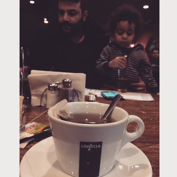 Photo Taken At El Patio Argentine Café By Priscilla L. On 1/25/