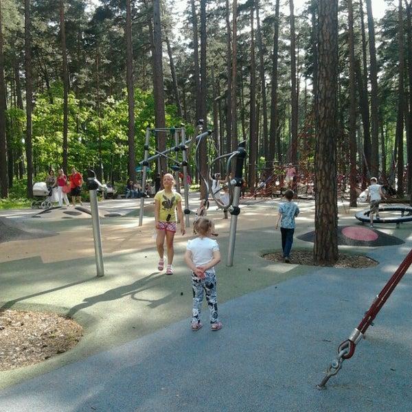 Photo taken at Dzintaru mežaparks by Liana D. on 6/1/2013
