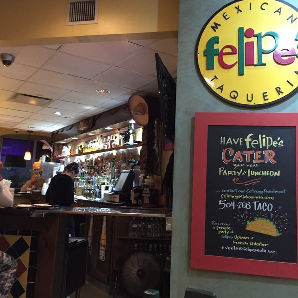 Photo taken at Felipe's Mexican Taqueria by Emerson A. on 1/3/2016