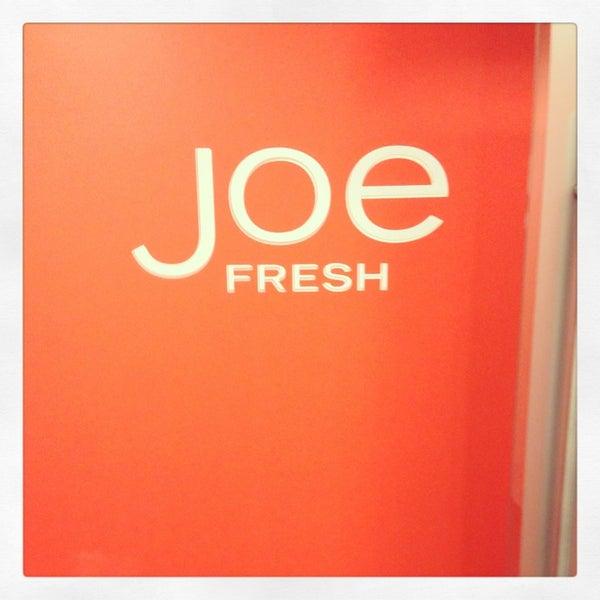 Photo taken at Joe Fresh by Justin K. on 2/4/2013