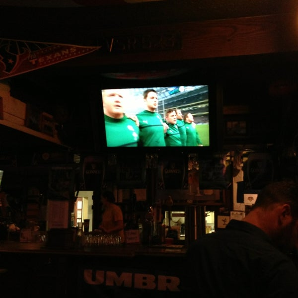 Photo taken at The Richmond Arms Pub by Tim D. on 3/9/2013