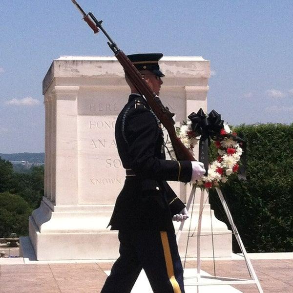 Photo taken at Arlington National Cemetery by RunBeerSleepRepeat on 6/2/2013