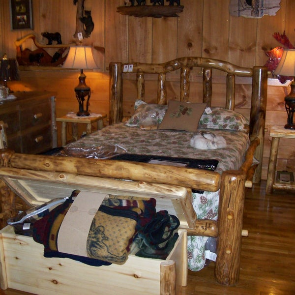 Photo Taken At Great Rustic Furniture Company By On 7 24