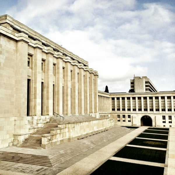 Photo taken at Palais des Nations by Alex F. on 1/22/2013